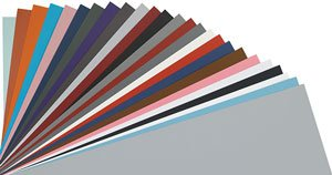 - Canford Artists Colored Craft Card, 8.5x11 sheets, 10/pk, Dreadnought Grey - 8.5 x 11 (10pk)
