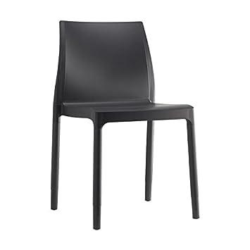 Idea Sillas Bar 6, sillas de Tecnopolimero Reforzado para Exterior ...