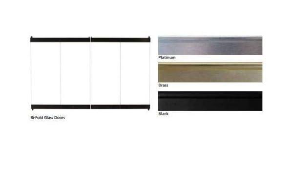 Amazon Superior Bd32 Standard Bi Fold Black Glass Door For 32