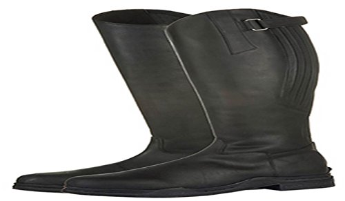 Riding Horse Boots Mucking Leather Proof Yard Water Black Long Country 39 Out HKM nI6xXZFP