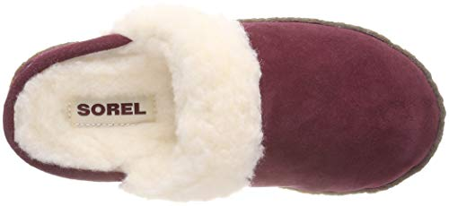 Rich Wine Women's Slippers Slide II Nakiska Natural Sorel wqdYXZZ