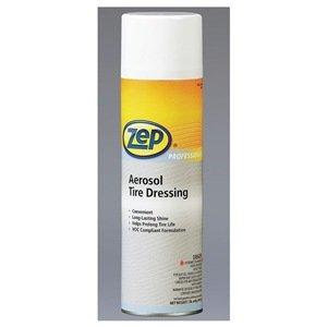 Zep Professional R08401 Aerosol Tire Dressing, Solvent Fragrance (12 Aerosol of 20 oz) by Zep Professional