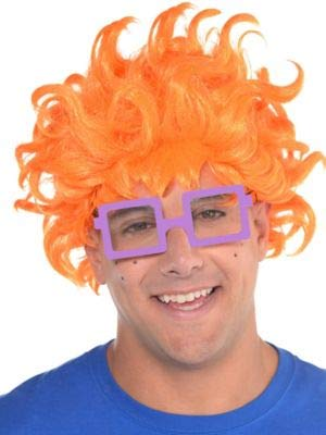 Amscan Rugrats Chuckie Finster Halloween Costume Accessory Kit for Adults, One Size ()