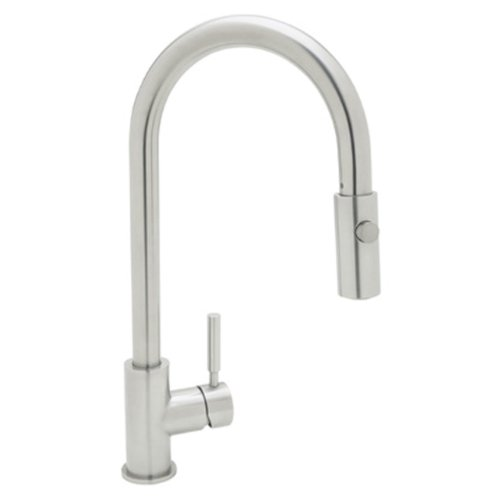 Rohl R7520SS Lux Single-Lever Handle Pull-Down Kitchen Fauce