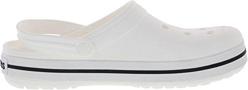 Femme Sabots Blanc Clog Band White Crocs tx0B8qq