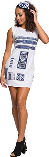 Rubie's Adult Star Wars R2-D2 Rhinestone Costume Dress Set