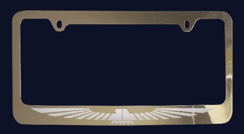 Ford Thunderbird License Plate Frame (Zinc (Thunderbird License Plate Frame)