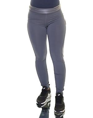 Jessica Simpson Women's Shine Trim Active Leggings