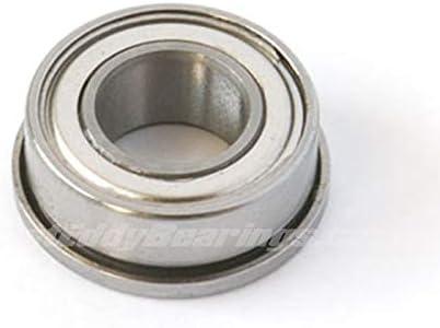 10pcs Miniature Flange Bearing 5x13x4mm 5x13x4 F695ZZ