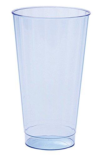 WNA CC16BRIBL240 BriteLites Tall Fluted Drinking Cups, 16 oz., Blue (Pack of 240)