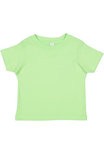 Rabbit Skins Infant 100% Cotton Jersey Short Sleeve Tee (Key Lime, 18 Months)