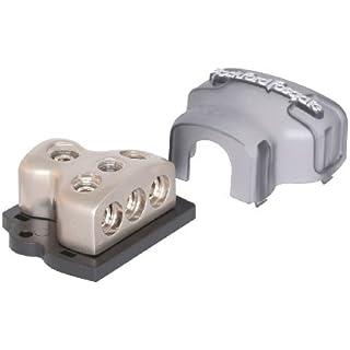 Sale Off Rockford Fosgate RFD4 1/0 AWG 4 AWG Distribution Block - Platinum