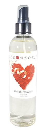 (Bee Adored Body Spray, Vanilla Dreams, 8 Fluid Ounce)