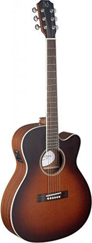 James Neligan EZR-OMCFI EZRA Series Orchestra Cutaway Acoustic-Electrc Guitar with FISHMAN - String Guitar Acoustic Orchestra 12