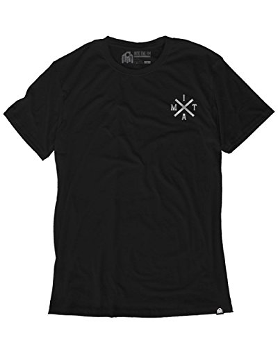 - INTO THE AM Magnified Men's Graphic Tee Shirt (Small)