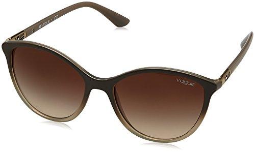 Ray-Ban Women's Plastic Woman Cateye Sunglasses, Opal Grey Gradient Grey, 55 - Ray Cat Sunglasses Eye Ban Women