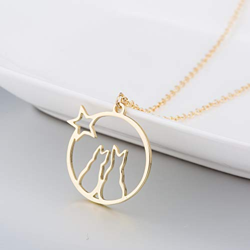 Clothing, Shoes & Jewelry Frodete 4Pcs Long Pendant Necklace for Women Tassel Y Strands Round Bar Three Triangle Feather Jewelry Y-Necklaces