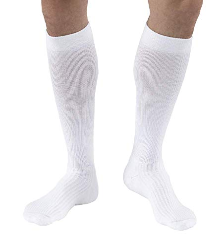 JOBST Activewear Knee High Closed Toe Sock, Athletic Stocking for Active Lifestyle, Energizing Sock with no Bunching or Pinching, All Day Comfort and Odor Control Technology, Compression Class- 20-39