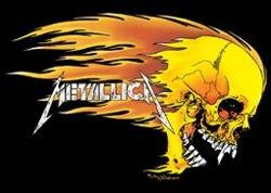 Music - Rock Posters: Metallica - Flaming Skull