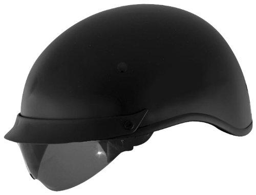 Cyber Helmets U-72 Solid Helmet , Helmet Type: Half Helmets, Helmet Category: Street, Distinct Name: Matte Black, Primary Color: Black, Size: Lg, Gender: Mens/Unisex 640843