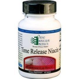 Ortho moléculaire - Time Release Niacin - 90 comprimés