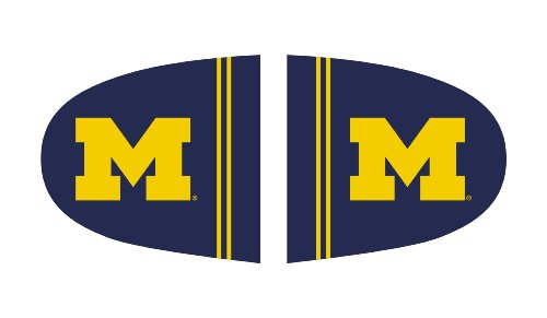 FANMATS NCAA University of Michigan Wolverines Polyester Mirror Cover-Large