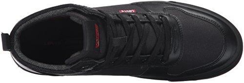 Levis Heren Wilshire Mono Sneaker Zwart Monochroom