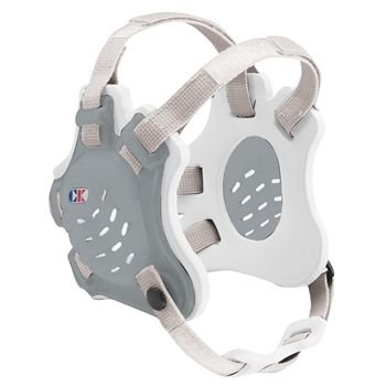 Cliff Keen Tornado Wrestling Headgear - COLOR: Silver/White/White