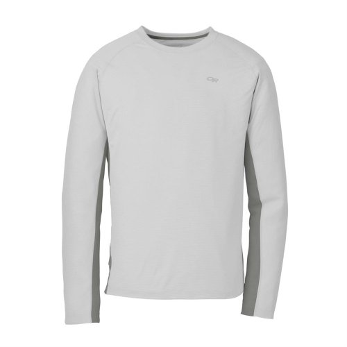 Price comparison product image Outdoor Research Men's Echo Long Sleeve Duo T-Shirt,  Alloy / Pewter,  Large