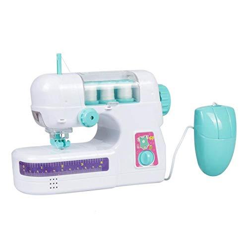 - Mini Sewing Machine Electric Sewing Machine Safety Design Durable Gift for Children Education