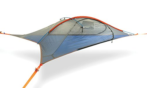 Tentsile Flite Plus - Suspended Camping Tree House Tent - 2 Person - Orange Rainfly
