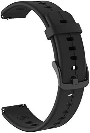 Enkomy Siliconen armbanden 16 mm verstelbare siliconen sportarmband horloge band voor Huawei Talkband B6
