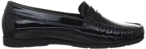 Mephisto JANET VERNICALF 4200 BLACK P5100789 - Zapatos casual de cuero para mujer Negro