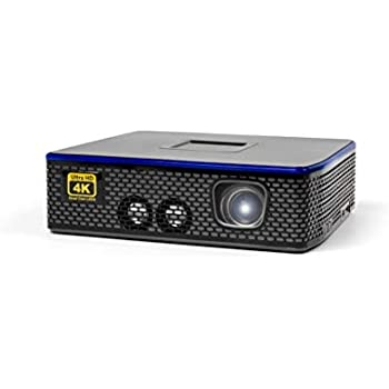 AAXA 4K1 LED Home Theater Projector, 30,000 Hour LEDs, Mercury Free, Native 4K UHD Resolution, Dual HDMI with HDCP 2.2, 1500 Lumens, E-Focus, Portable ...