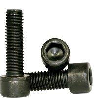 Hex Screw - Allen Screw - Socket Head Cap Screw - Metric Class 12.9 - M16-1.5 x 40mm - Thermal Black Oxide (Quantity: 25), Drive: Hex Socket, Head: Cylindrical by Jet Fitting & Supply Corp