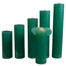 Maria Buytaert Dänische Klassische Kerzen türkis grün dunkel 17 cm eine