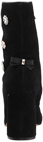 Nanette Lepore WoMen Linette Ankle Boot Black Suede