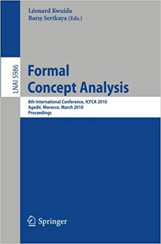 Formal Concept Analysis: 8th International Conference, ICFCA