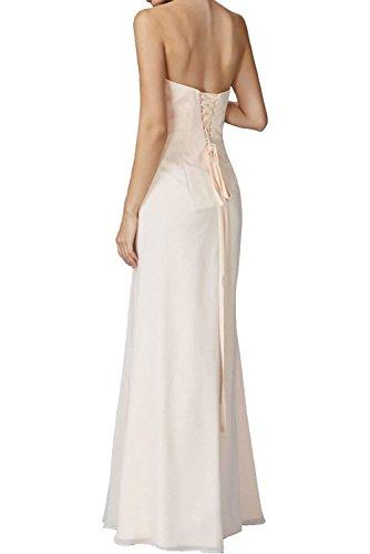 La Braut Etuikleider Ballkleider Festlichkleider Chiffon Suessig Damen Promkleider Langes Marie Salbei Abendkleider Beige r4Z65rqx