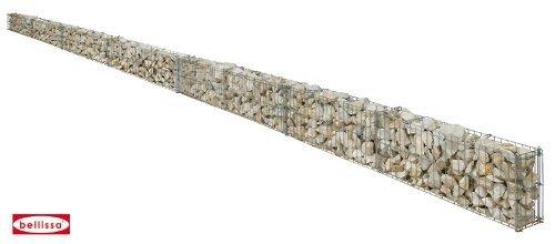 Belissa Mauergitter für geschwungene Mauern