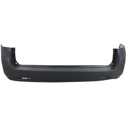 MBI AUTO - Painted to Match, Rear Bumper Cover for 2011-2018 Toyota Sienna 11-18, TO1100286