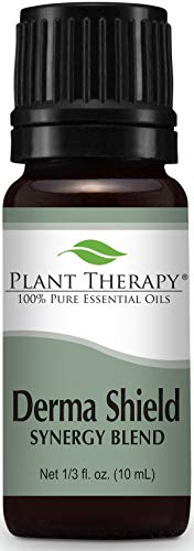 Plant Therapy Derma-Shield Synergy Essential Oil 10 mL (1/3 oz) 100% Pure, Undiluted, Therapeutic Grade
