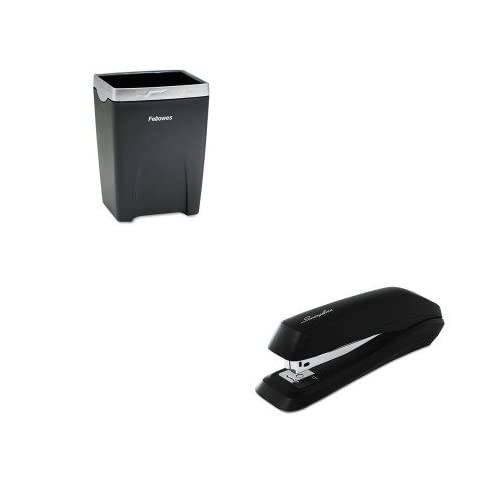 KITFEL8032301SWI54501 - Value Kit - Fellowes Office Suites Divided Pencil Cup (FEL8032301) and Swingline Standard Strip Desk Stapler (SWI54501)