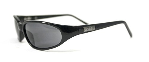 Black Flys Micro Fly Sunglasses (Black Flys Micro Fly Sunglasses - Shiny Black - Smoke Polarized Lenses)