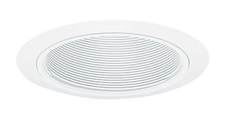 Juno Lighting 205W-WH 5-Inch Downlight Baffle, White with White Trim by Juno Lighting Group