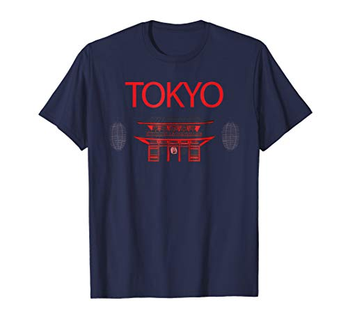 Tokyo Capital of Japan Vacation Souvenir T-Shirt