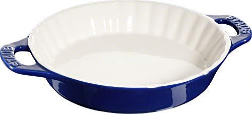 ZWILLING J.A. HENCKELS 40511-165 Staub Ceramic Pie Dish 1.25 qt./1.2 L, Blue