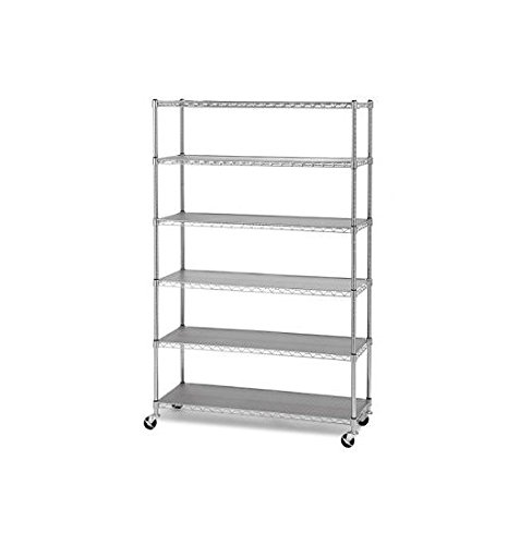 Review Seville Classics Commercial Industrial Storage Shelving - 6 levels By Seville by Seville