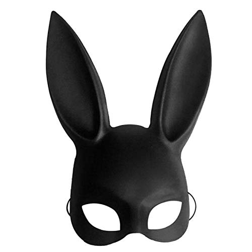 Party Masks - Fashion Pvc Women Girl Party Cosplay Rabbit Ears Mask Sexy Long Carnival Halloween - Bulk Lace Adults Headbands Masks Dinosaur Wear Couples Kids Party Male Pack Superhero Wo ()