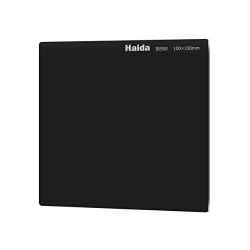 Haida 100mm x 100mm Infrared 950 Filter Optical Glass IR 950nm Cokin Z Compatible HD2506C